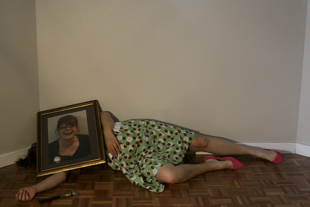 Claire Kastelan - Self Portrait...