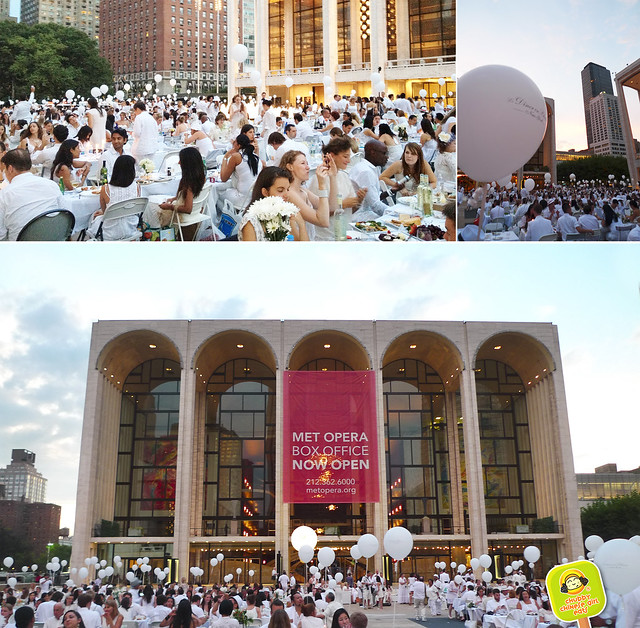 diner en blanc NYC 2012 lincoln center converted to white 2