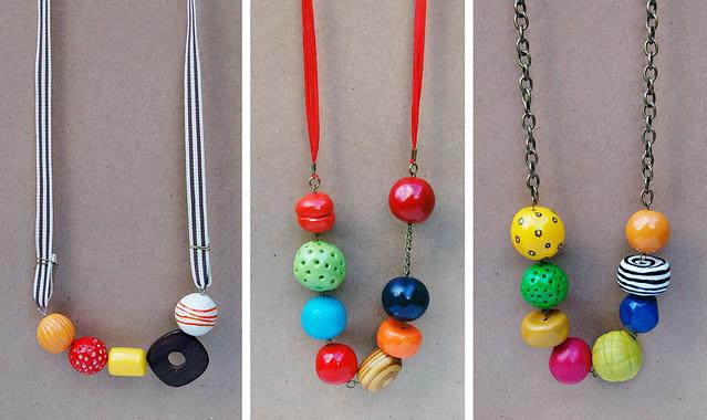 display necklaces