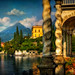 Along the lake - Rich detail along Lake Como in Italy