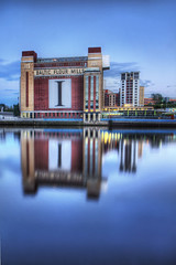 The Baltic Flour Mill on the River Tyne