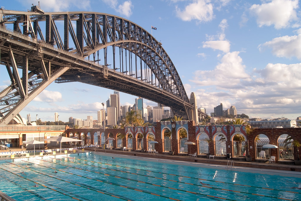 Rio cape town and sydney three stars in the southern for Pool show sydney