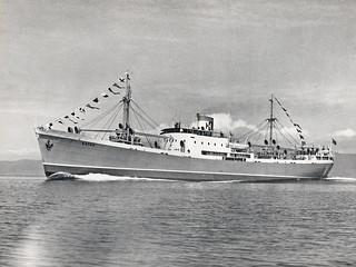 """M/S """"Botne"""" (ca. 1951)"""