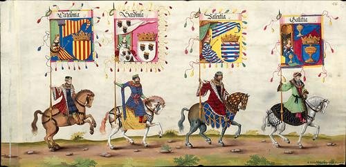 007-Triunfo del Emperador Maximiliano I…1700-Copyright Biblioteca Nacional de España
