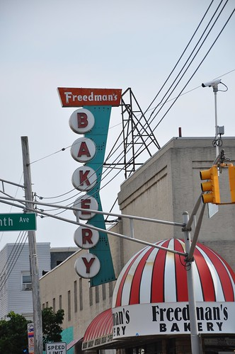 Freedman's Bakery Sign - Belmar NJ