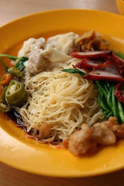 Sin Hoe Hin (Rowell Road) Dark Sauce Style Wanton Mee