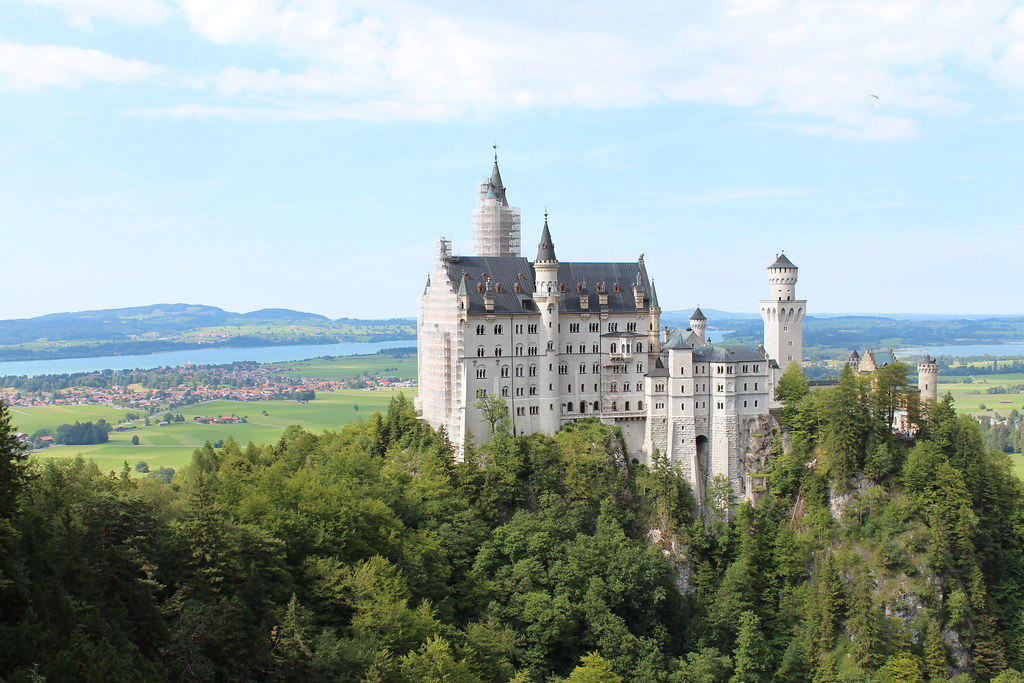 Neuschwanstein from the Marienbrücke