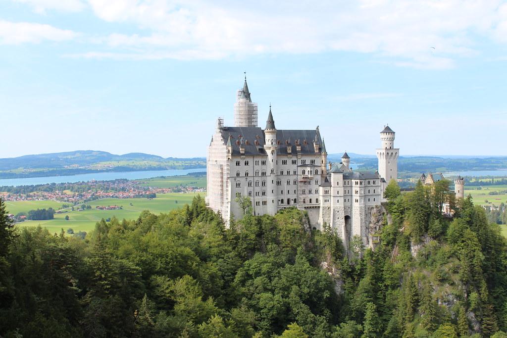Neuschwanstein from the Marienbrücke