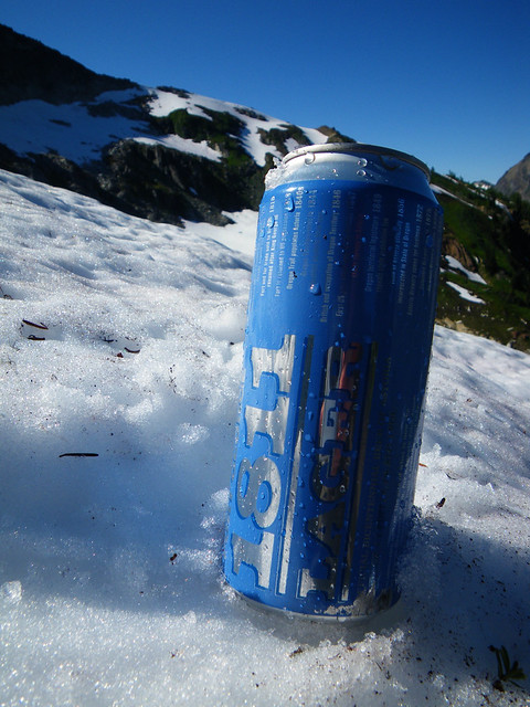 Fort George beer at 6300'