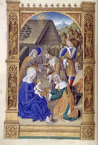 020-Libro de horas de Carlos VIII Rey de Francia -1401-1500-Copyright Biblioteca Nacional de España