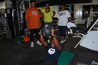 TW fitness class demo 8-2012
