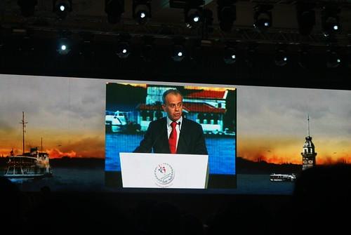 Ali Nihat Yazici, President Comité Organitzador