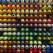 Spools of thread at the textiles lab @hallmark 🎨 Carretes de hilo en el taller de textiles de Hallmark by Geninne