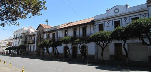 Sucre: la Plaza 25 de Mayo et ses maisons coloniales