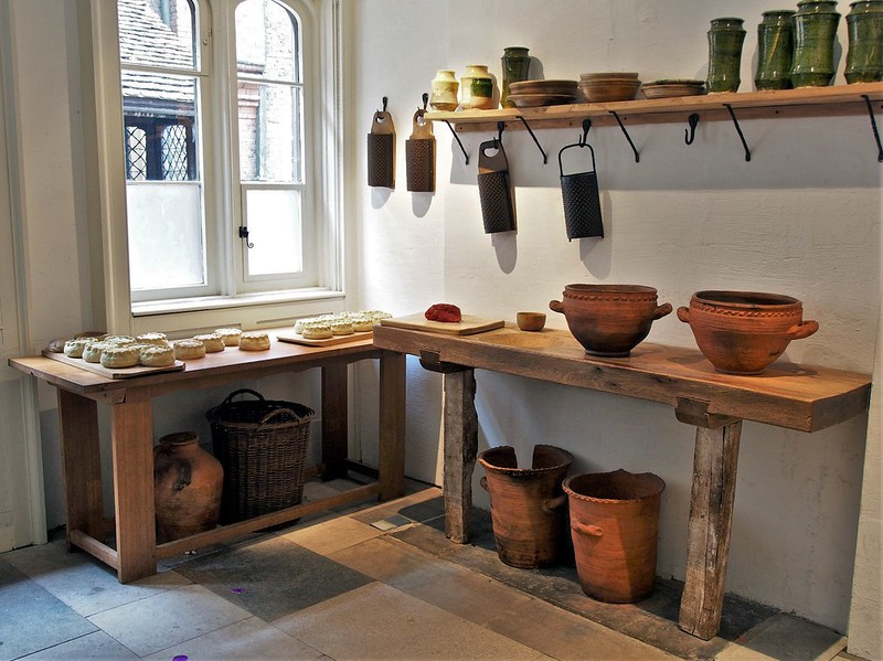 Hampton Court Kitchens. Credit David Farquhar, flickr