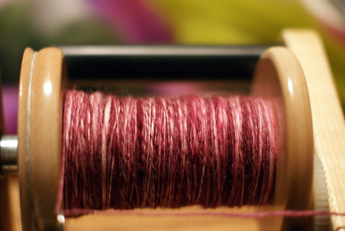 "Tour de Fleece, Day 3: Hello Yarn ""Brittle"""