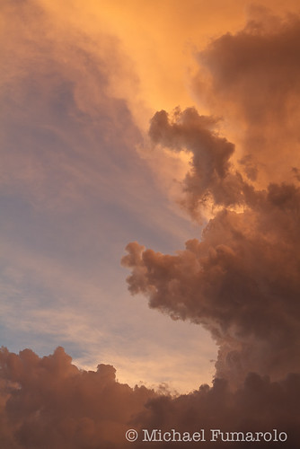 Thunderstorm Sunset Light - 06