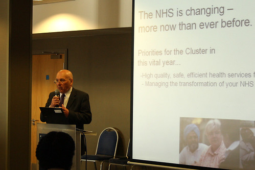 Richard Nugent, Non Executive Director, Black Country PCT Cluster