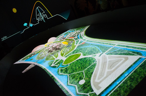 A colorful interactive tour of the intricacies of the setup of Gardens by the Bay
