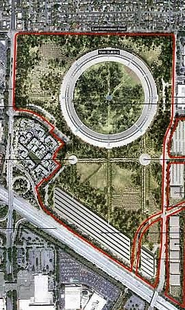 Apple's design (courtesy of city of Cupertino)