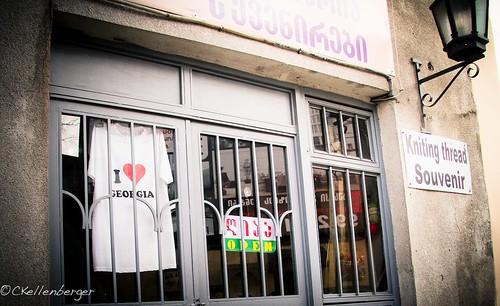 Shop in Tbilisi, Georgia