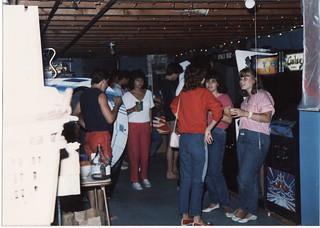 BOB'S GAMEROOM IN 1985
