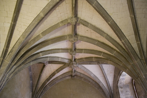 vaulted roof on the ground floor