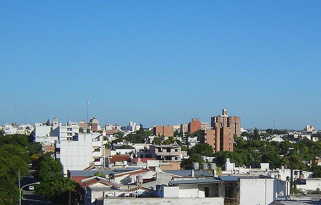 Vista del barrio