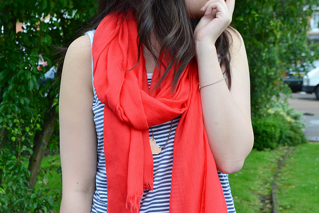 daisybutter - UK Style and Fashion Blog: what i wore, breton stripe, SS12
