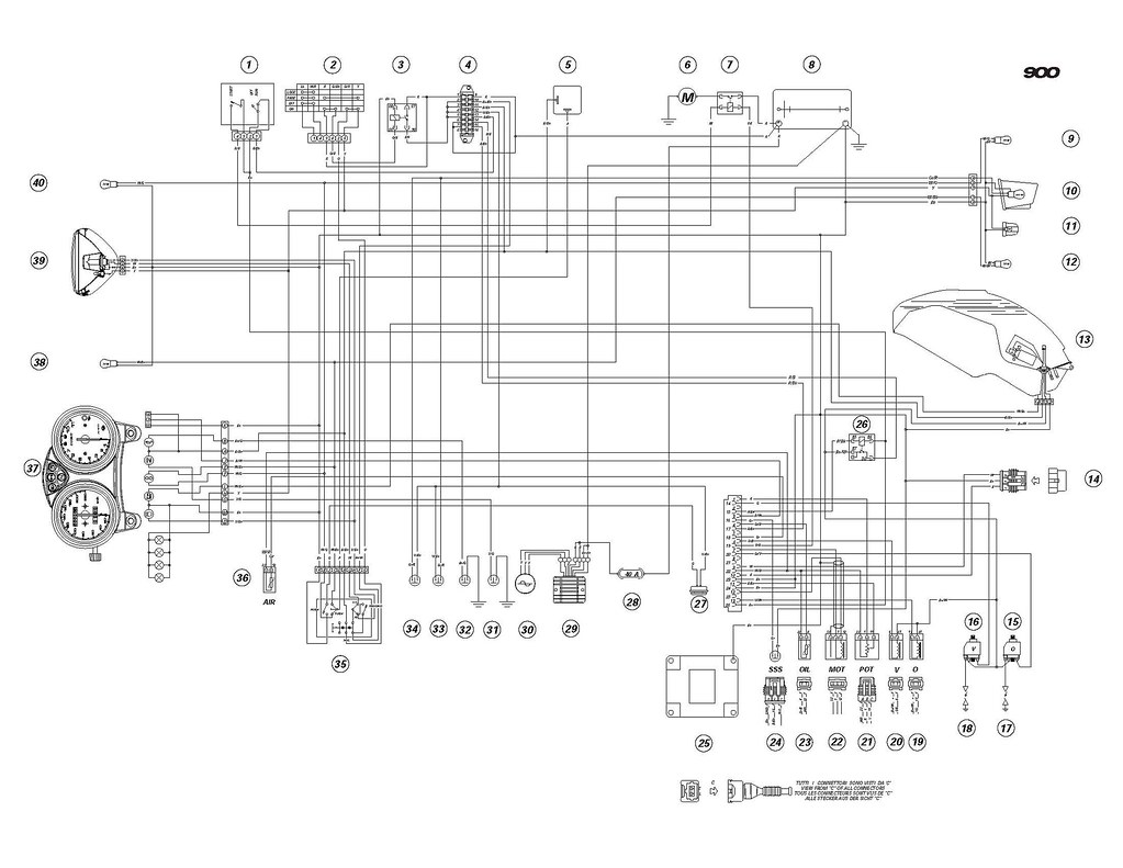 Ducati Monster 600 Electrical Wiring Diagram Library Acerbis