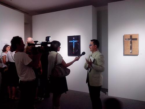 Intervista tra crocifissi d'autore by Ylbert Durishti
