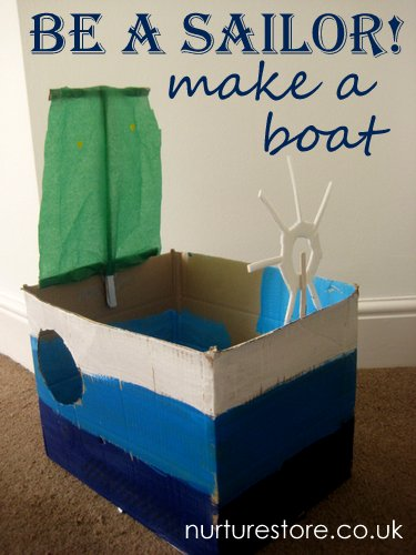 be a sailor make a boat