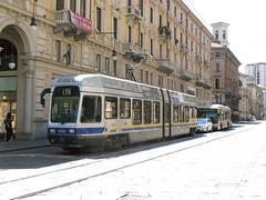 Tram in Torino, Italy