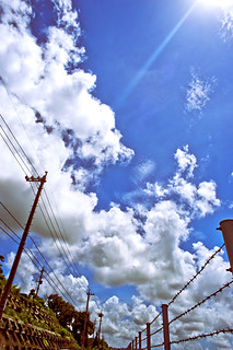 Summer sky #4 on fri the13th@Okinawa,Japan_沖縄の空@13日の金曜日04