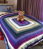 Bavarian Crochet Afghan by Cates Chaos
