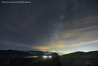 The Milky Way Galaxy @ Mt. Hehuan, Nantou county │ July 14, 2012
