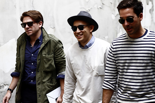 2012_06 Tuukka Laurila Paris Mens Fashion Week Street Style - The Guys with Sunglasses