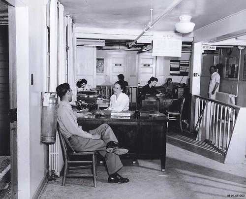 Hospital Reception Area