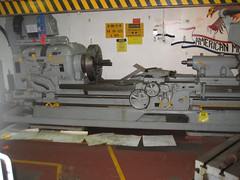 machine(1.0), metal lathe(1.0), tool(1.0), tool and cutter grinder(1.0), machine tool(1.0), lathe(1.0),