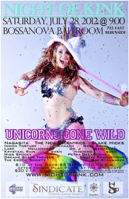 Unicorns Gone Wild @ Bossanova Ballroom