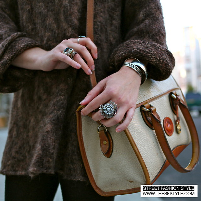 san francisco, sf, street fashion style, Accessories, rings, vintage bag, heels,