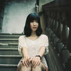 [フリー画像素材] 人物, 女性 - アジア, 女性 - 座る, 中国人 ID:201207231400