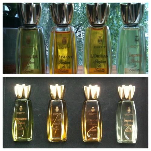 Vintage Coty Parfum de Toilette set