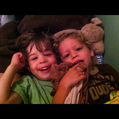 My loves cuddling before bed