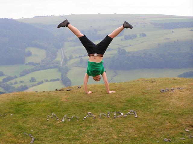Dinas Bran Castle, Wales