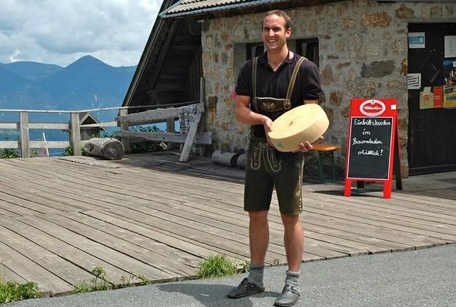 Tressdorfer Alm Schaukäserei in the Austrian Alps