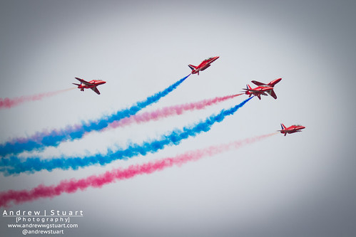 Red Arrows Splitting