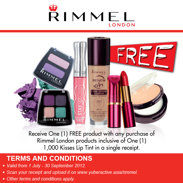 Rimmel London Malaysia 1000 Kisses Lip Tint Promo