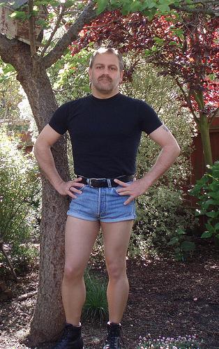man short shorts