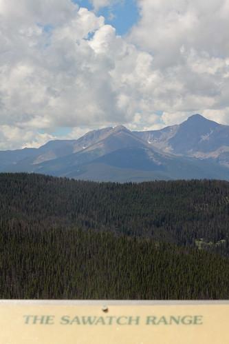 mountains sign colorado view vail